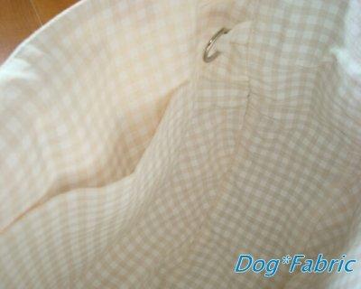 画像1: お散歩Bag『ショルダータイプ』(yellow check)